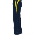 Vista lateral izquierda del pantalón de la nueva temporada de tenis de mesa