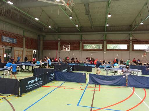 Imagen general torneo de tenis de mesa