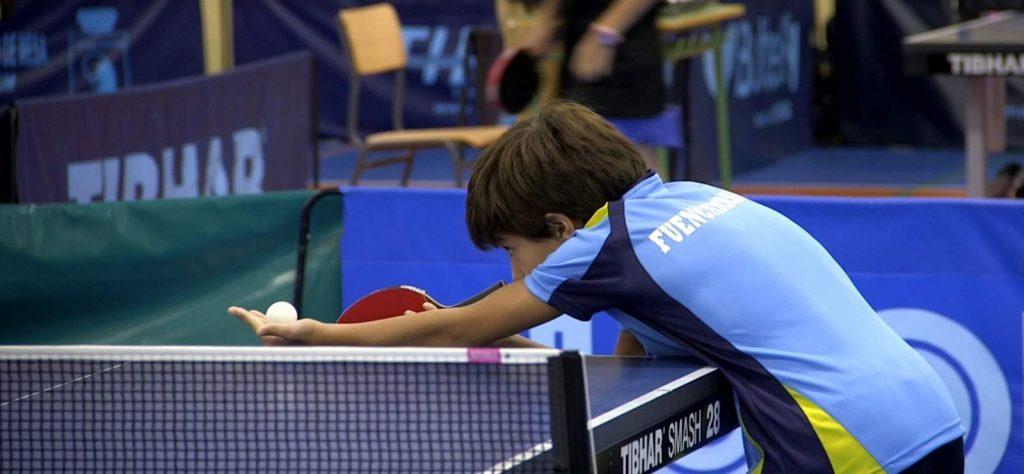 Samuel jugando en el torneo zonal