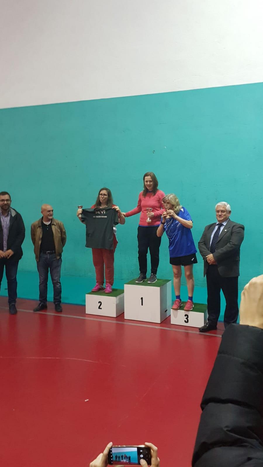Campeonatos de Tenis de Mesa de Madrid por edades femenino +40